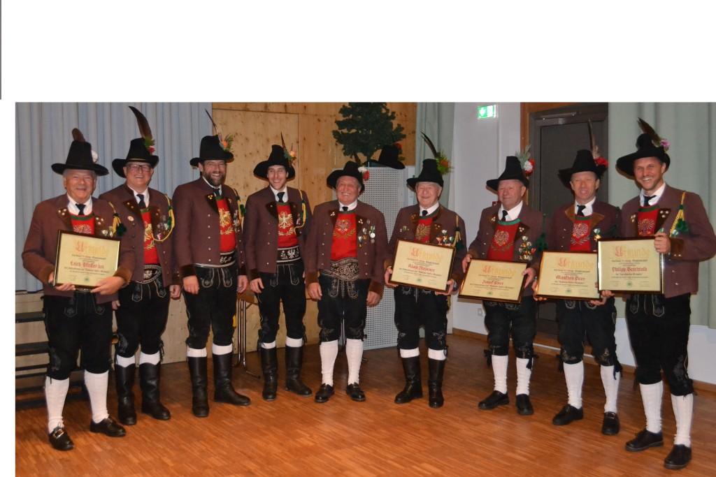 Schützenjahrtag und Jahreshauptversammlung am 3.11.2018